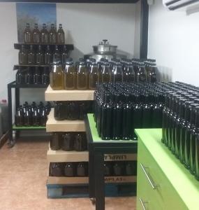 Envasadora aceites Kosher