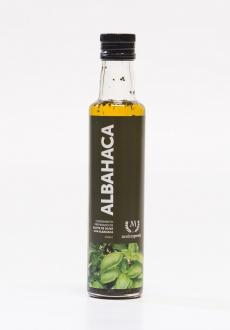 Aceite de oliva aderezado con Albahaca  250ml