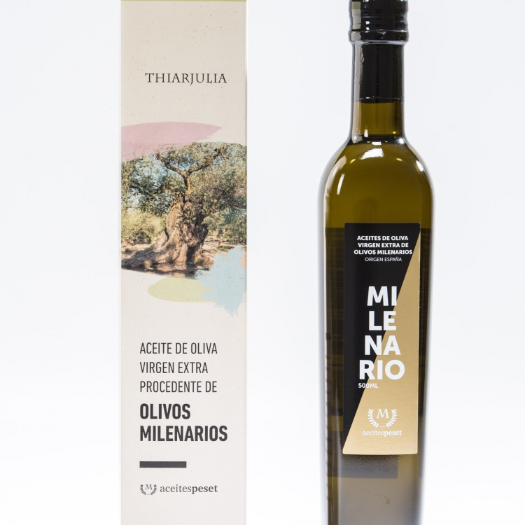 Aceite de olivos milenarios